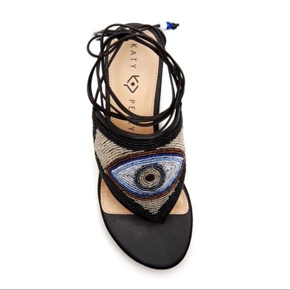 Katy Perry Evil Eye Sandals Nwot